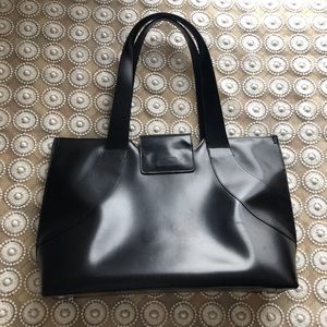 Franklin Covey Leather Tote